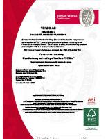 Thumbnail of FSC certificate
